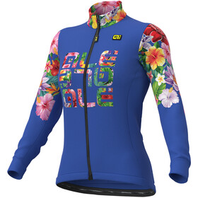 Alé Cycling Solid Alé Lab Flowers Jersey Women blue